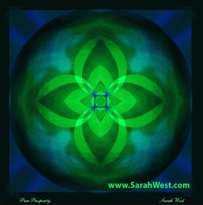 Pure Prosperity - Healing Mandalas by Sarah West